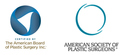 Certified by the American Board of Plastic Surgery Inc., American Society of Plastic Surgeons